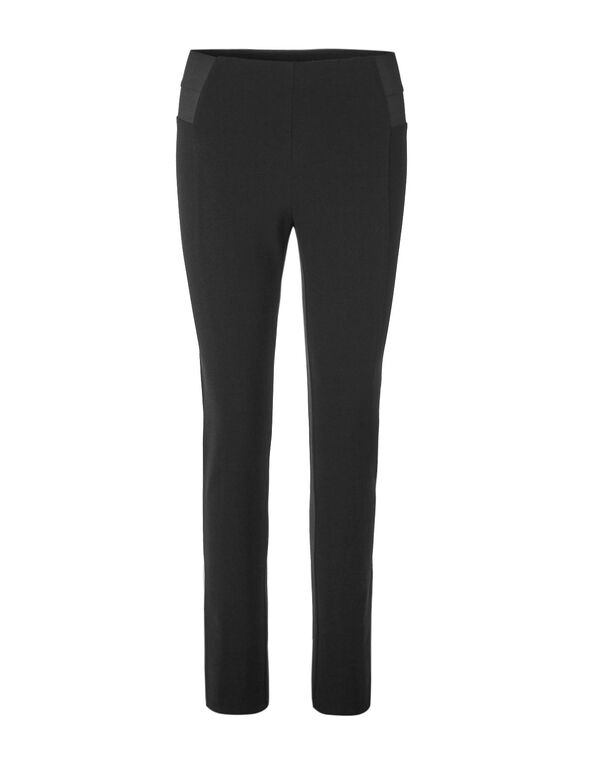 Black High Waisted Legging, Black, hi-res