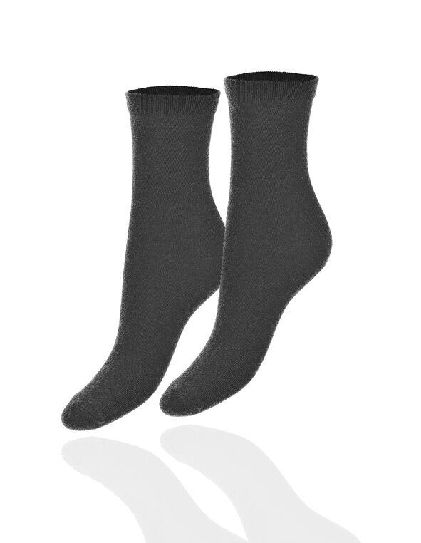 Charcoal Crew Sock, Charcoal, hi-res