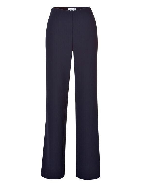 Navy Ottoman Trouser Pant, Navy, hi-res