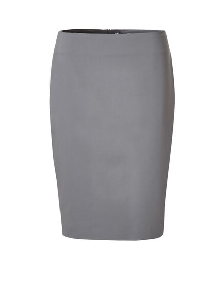 Grey Pencil Skirt, Grey, hi-res