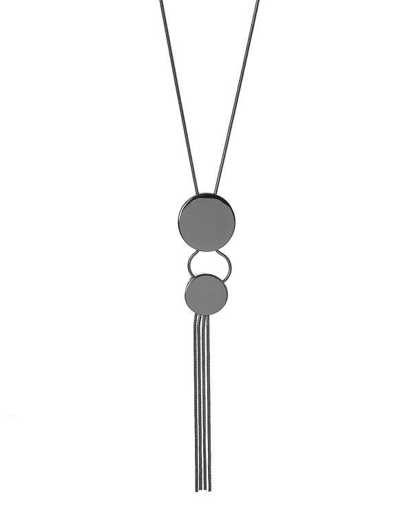 Hematite Pendant Necklace, Hematite, hi-res