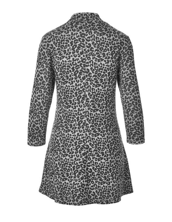 Grey Hacchi Animal Print Tunic, Grey/Black, hi-res