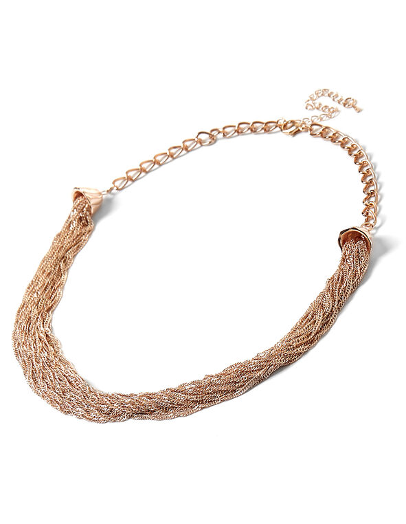 Rose Gold Chain Necklace, Rose Gold, hi-res