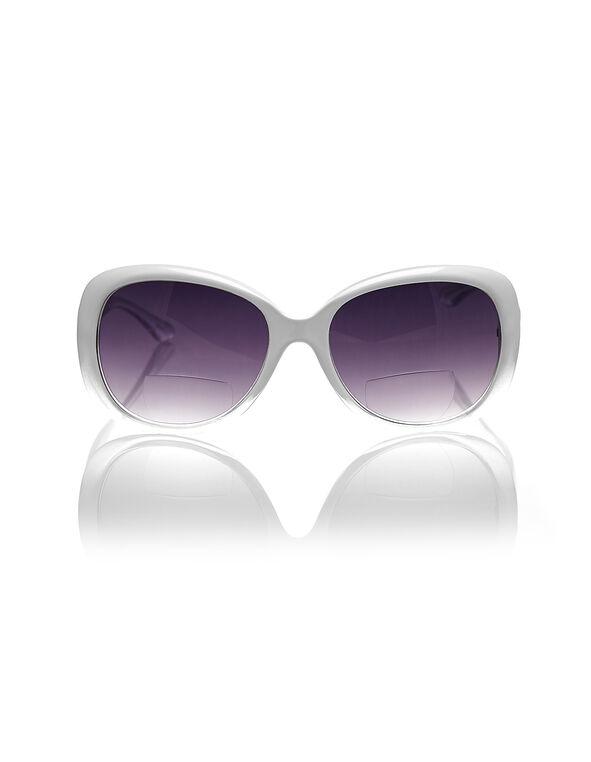 White Ombre Oval Sunreader, White, hi-res