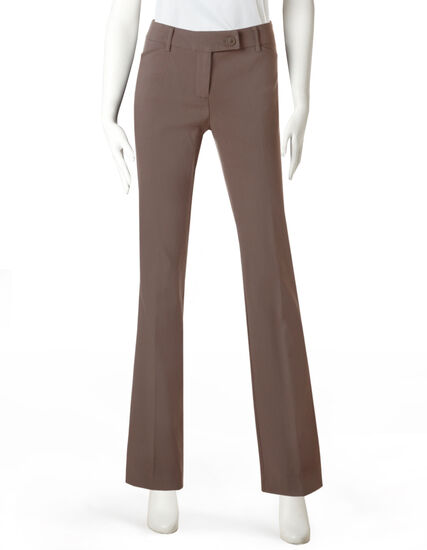 Every Body Microtwill Boot Leg Pant, Taupe, hi-res