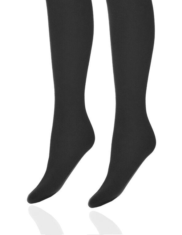 Black Plush Tights, Blavck, hi-res