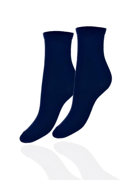 Navy Crew Sock, Navy, hi-res