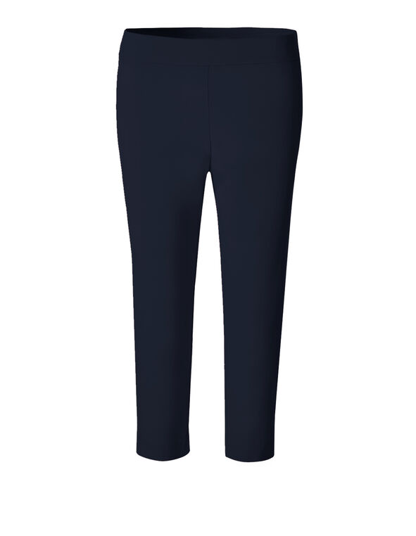 Navy Cleo Signature Capri, Navy, hi-res