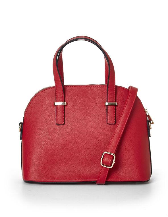 Red Small Dome Handbag, Red, hi-res