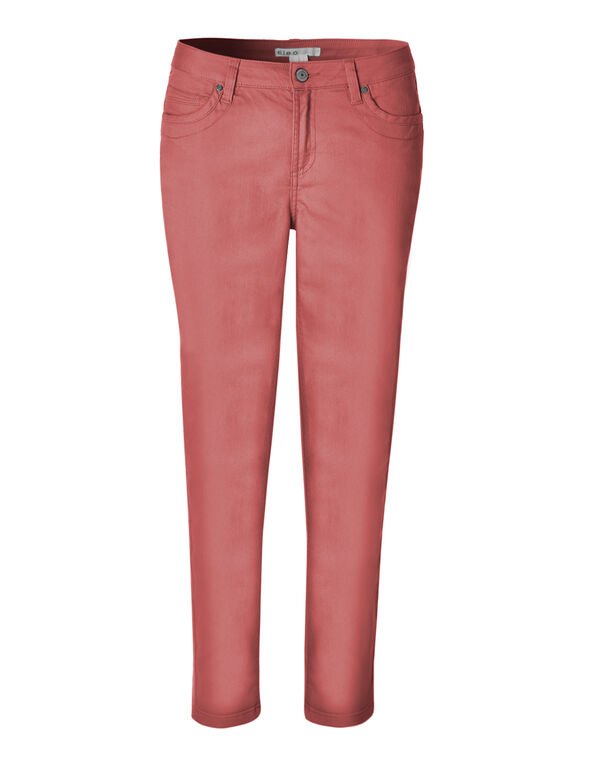 Pink Every Body Ankle Jean, Medium Pink, hi-res