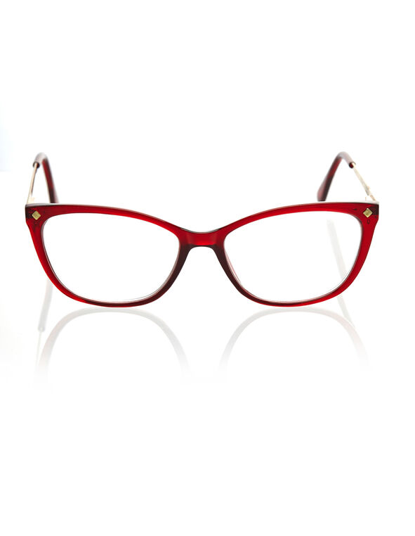 Red Cat Eye Reader, Red, hi-res