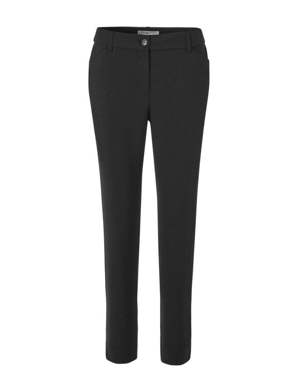 Black Shine Every Body Pant, Black, hi-res
