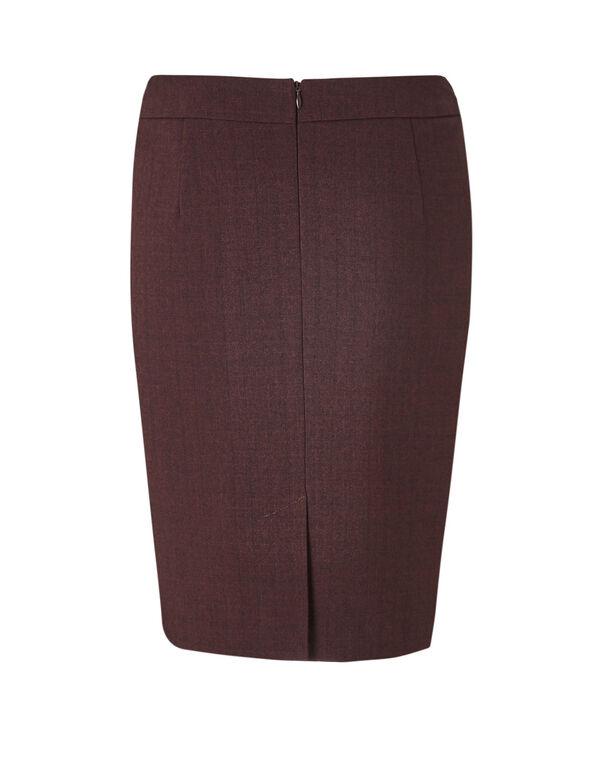 Brick Favourite Pencil Skirt, Brick, hi-res