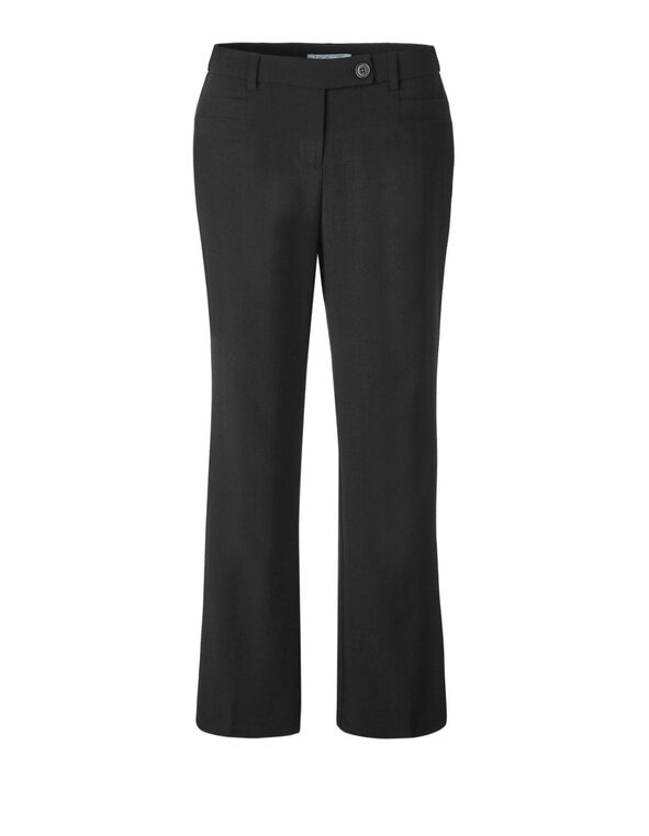 Classic Black Curvy X-Short Trouser, Black, hi-res