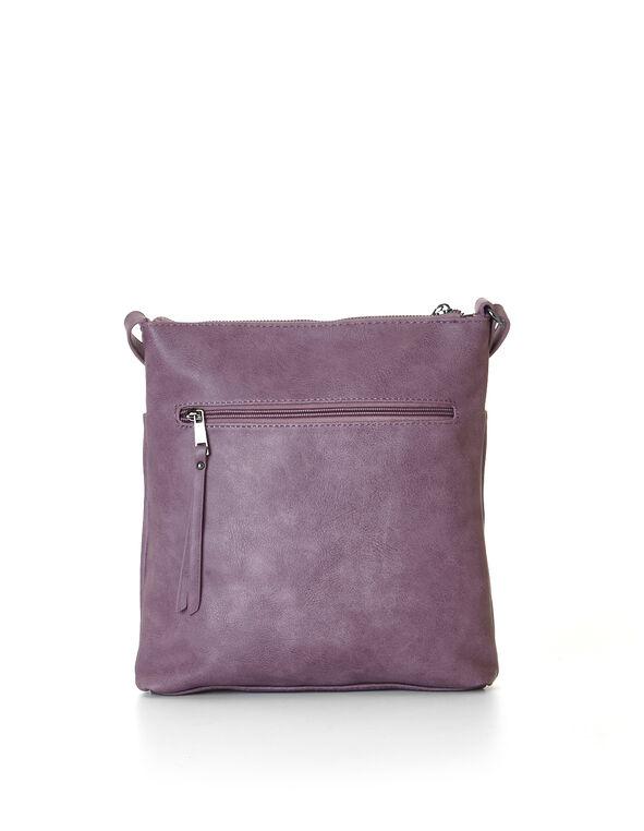 Mauve Crossbody Bag, Mauve, hi-res