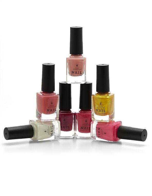 Eiffel Tower Nail Polish Set, Red/Coral/Pink/Rose/Rose/Ivory/Hot Pink, hi-res