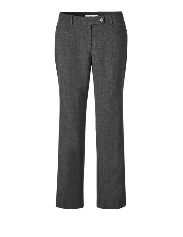 Classic Charcoal Curvy Trouser, Charcoal, hi-res