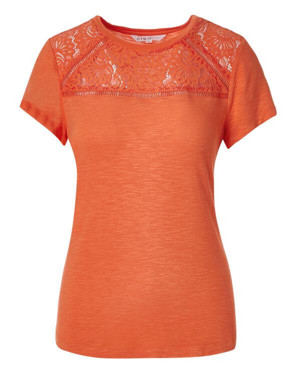 Fiesta Orange Yolk Scoop Top, Fiesta Orange, hi-res