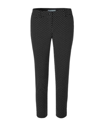 Black Dot Ankle Pant, Black/White, hi-res