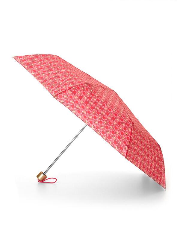 Pink Tile Umbrella, Pink, hi-res
