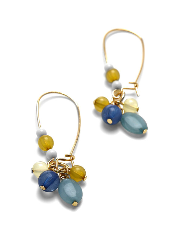 Multi Bead Earring, Multi, hi-res