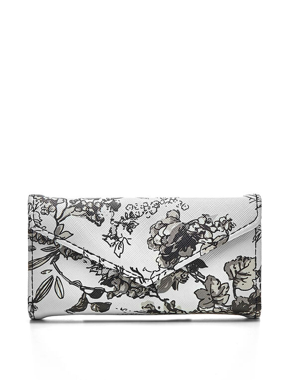 Floral Manicure Kit, White, hi-res