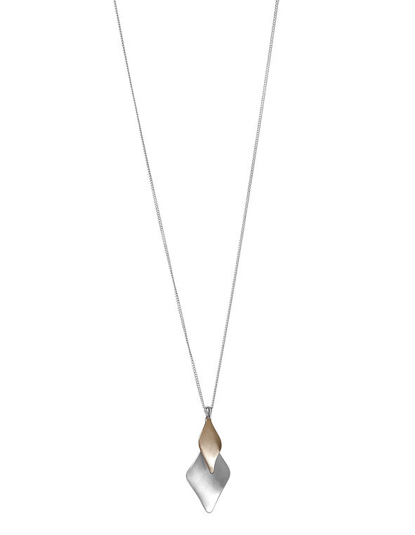 Rose Gold Twist Necklace, Rose Gold, hi-res