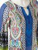 Periwinkle Print Sheath Dress, Blue/Green/Pink, hi-res