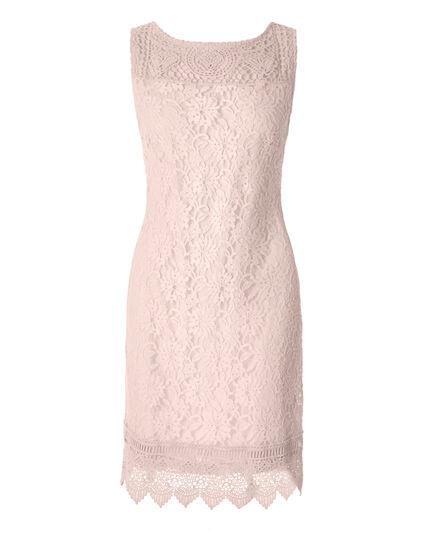 Pink Sand Lace Shift Dress, Pink Sand, hi-res
