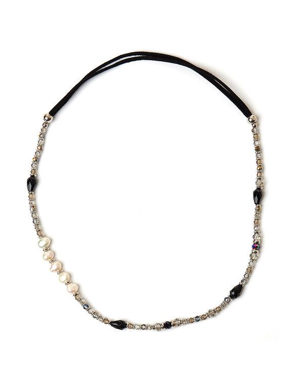 Black Convertible Bracelet, Black, hi-res