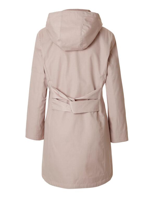Seashell Pink Button Front Jacket, Seashell Pink, hi-res