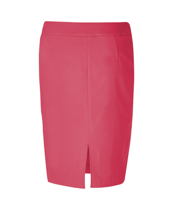 Tropical Signature Pencil Skirt, Rose, hi-res
