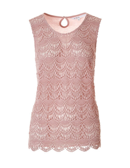 Soft Pink Crochet Blouse, Soft Pink, hi-res