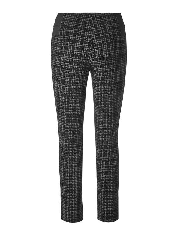 Black High Waist Legging, Black/Grey, hi-res