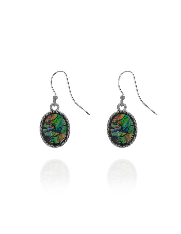 Abalone Earring, Abalone, hi-res