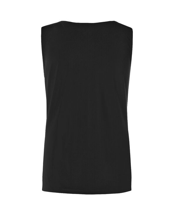 Essential Layering Top, Black, hi-res