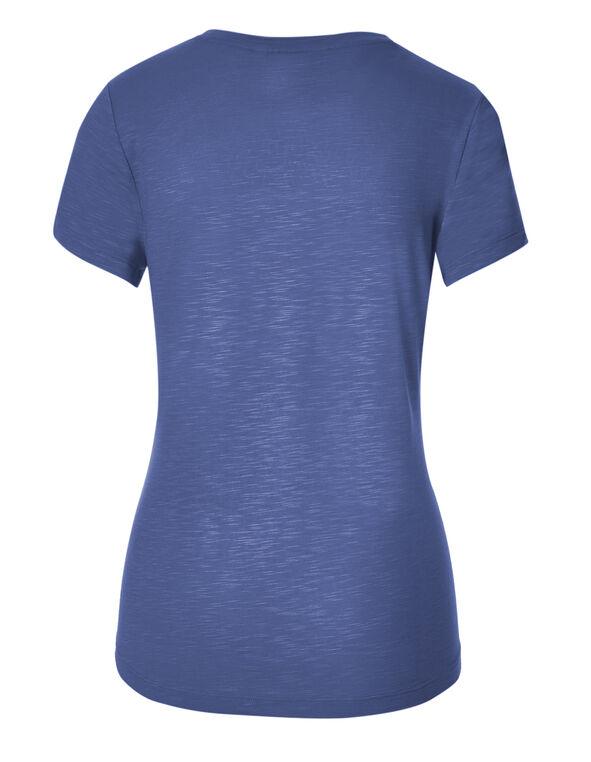 Denim Blue Yolk Scoop Top, Denim Blue, hi-res