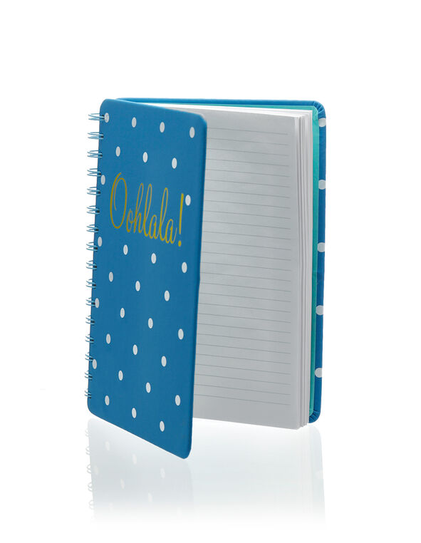 Ohlala! Notebook, Teal, hi-res
