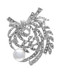Pearl Floral Pin