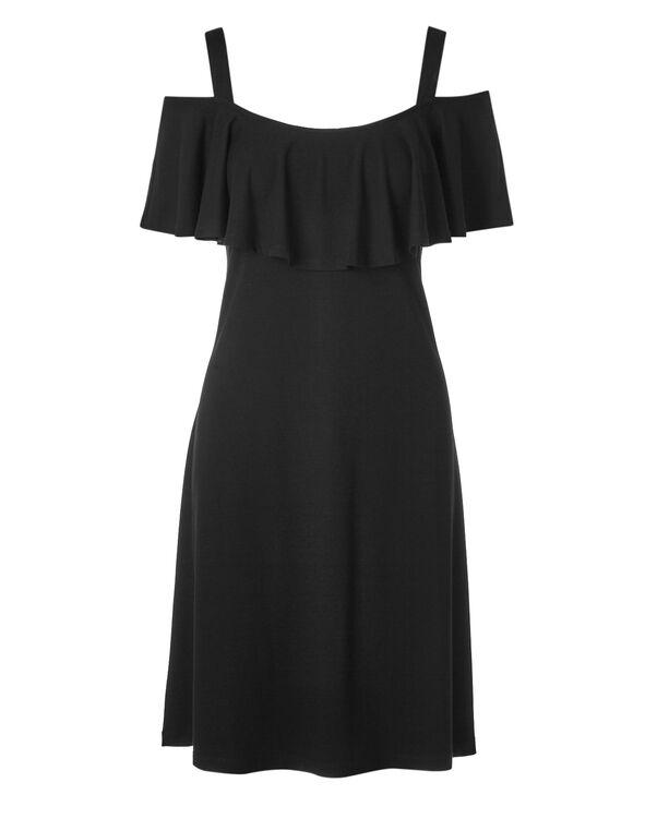 Black Summer Dress, Black, hi-res