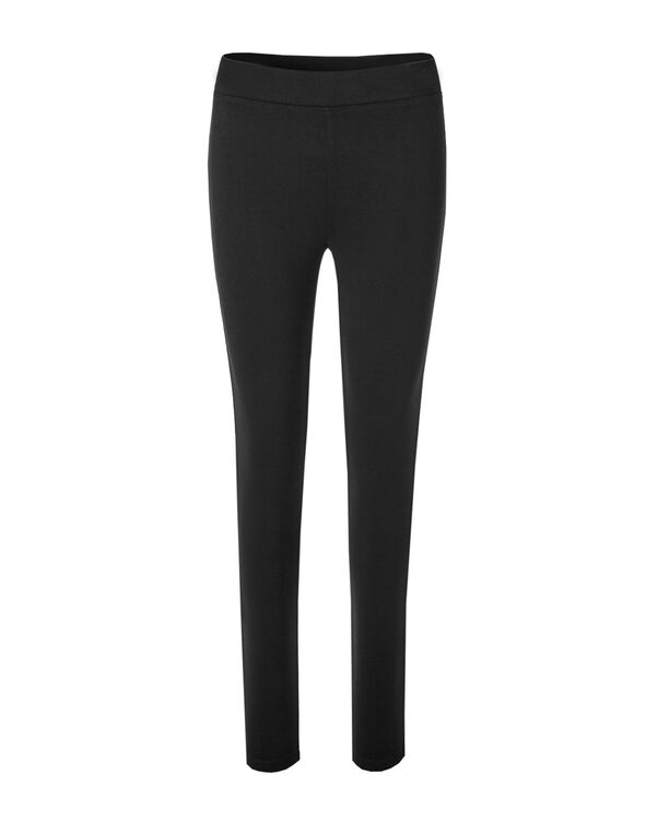 Black Cozy Legging, Black, hi-res