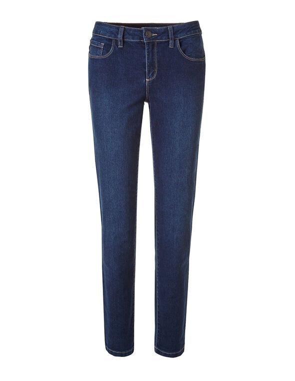 Short Mid Wash Slim Jean, Mid Wash, hi-res