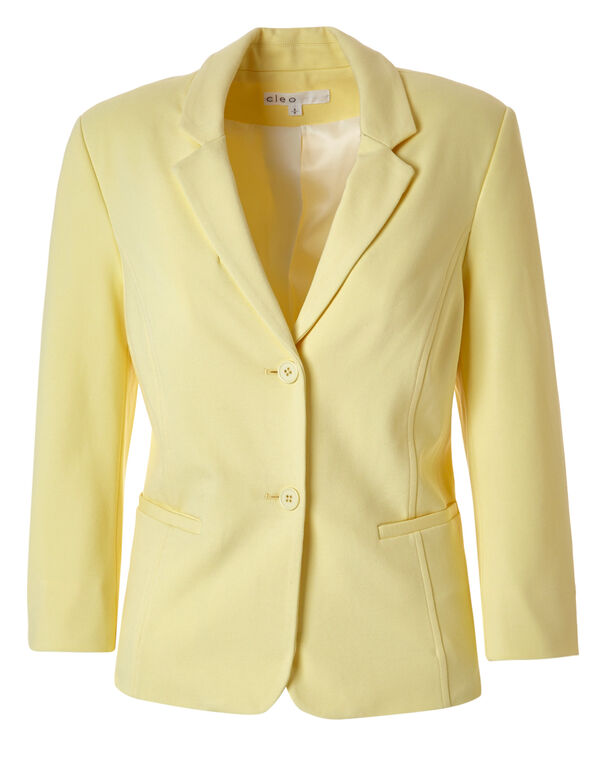 Yellow Blazer, Yellow, hi-res
