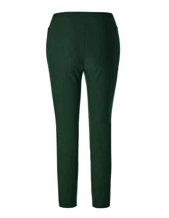 Peacock Pull-On Ankle Pant, Peacock, hi-res