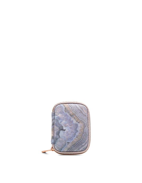 Purple Quartz Ear Bud Case, Purple, hi-res