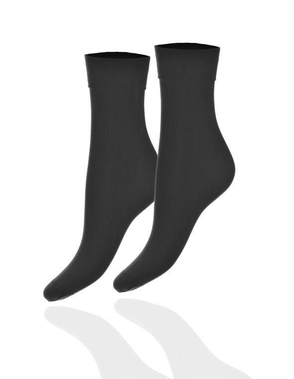 Black Trouser Sock, Black, hi-res
