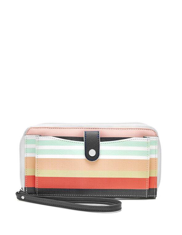 Striped Wallet, Multi, hi-res