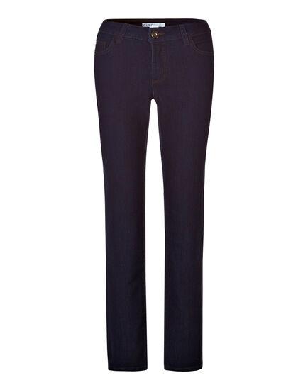 Curvy Fit Straight Leg Jean, Dark Indigo Denim, hi-res