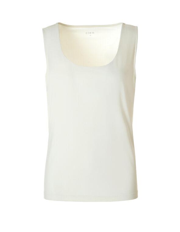 Essential Layering Top , Ivory, hi-res