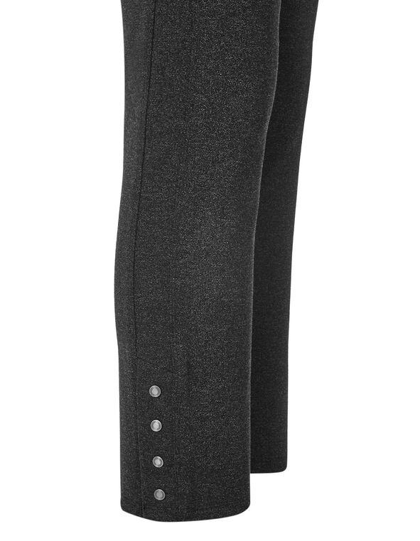Charcoal Long Snap Legging, Charcoal, hi-res